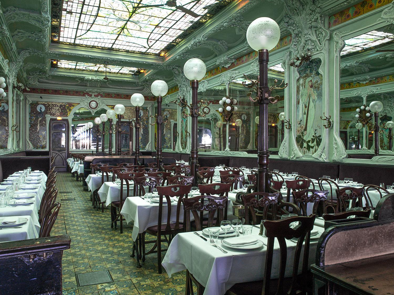 restaurant bouillon julien restaurant pas cher bonne ambiance beau bon pas cher spécialités françaisess